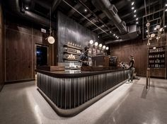 Not all Starbucks stores are created equal. Here, we round up a few unique Starbucks spots around the world. Cafe Interior, Shop Interior Design, Store Design, House Design, Cafe Restaurant, Restaurant Design, Chicago Coffee Shops, Starbucks Locations, Starbucks Store