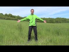 Jak uvolnit krční páteř a ramena. - YouTube Tight Neck, Knee Exercises, Sciatica, Tai Chi, Yoga Meditation, Back Pain, Acv, Health Fitness, Workout