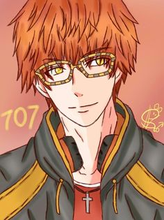 Mystic messenger 707 fanart by me! Please give credits!