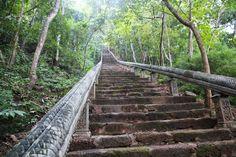 Phnom Banan stairs