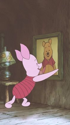 Disney Winnie The Pooh, Winnie The Pooh Drawing, Piglet Winnie The Pooh, Winnie The Pooh Pictures, Winne The Pooh, Winnie The Pooh Friends, Wallpaper Bonitos, Wallpaper Fofos, Vintage Cartoon