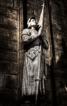 Joan of Arc (memorial in Norte Dame)