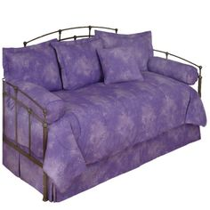 Karin Maki Caribbean Coolers Tie Dye #Purple Lilac #Daybed #Comforter Set #DelectablyYours