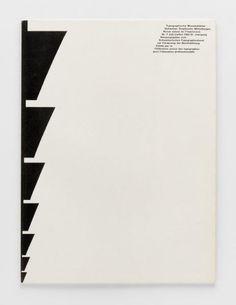 TM Typographische Monatsblätter, issue 7, 1962. Cover designer: Harri Boller