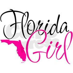 Florida Girl Decal on CafePress.com