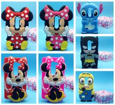 For LG Leon 4G LTE H340N C50 Case 3D Cartoon Minnie Stitch Silicone Phone Case in Cell Phones & Accessories, Cell Phone Accessories, Cases, Covers & Skins | eBay