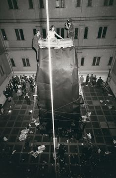 16 Miles of String - Andrew Russeth: Misremembering Allan Kaprow's Courtyard