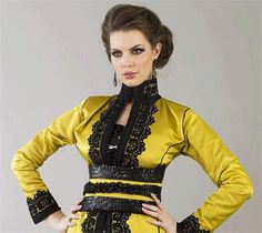 Mustard colored Caftan 2013