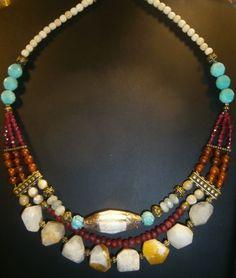 OOAK  Ethnic  necklace www.etsy/byfabie www.alittlemarket/by-fabie