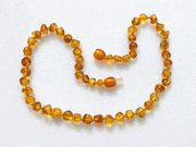 an Amber Teething Necklace for natural teething relief instead of medicine.  Thanks Giselle!