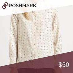 Marc by Marc Jacobs Polka Dot Silk Shirt Marc by Marc Jacobs Polka Dot Silk Shirt. #marcbymarcjacobs #polkadot #silk #blouse #designersale #designerclothes #designer Marc by Marc Jacobs Tops Button Down Shirts