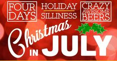 "Taps & Caps: Christmas in July!! ""Yes it's that time of year that we drag the spirit of Christmas kicking & screaming into the middle of the Texas summer. We know it's hot so we've decided to get silly sing some Christmas carols act like fools and release a different special/rare/crazy awesome beer every day from Friday July 22nd to Monday July 25th!"" #christmasinjuly #tapsandcaps #dentonslacker #denton #dentontx #doingitdenton #dentonite #thedentonite #dentoning #wedentondoit #wddi…"