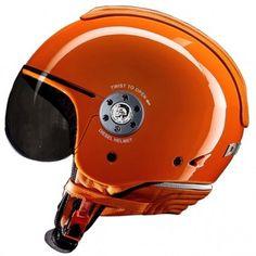 Casque Jet Diesel Mowie DJ Orange