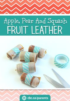 Apple, Pear And Squash Fruit Leather | Food | Recipes