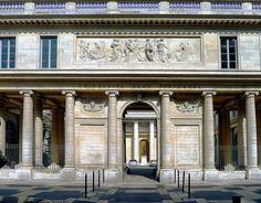 Ecole De Chirurgie, Paris(1771~86)  by Jacques Gondoin  파리 외과대학, 자크 공두앵    [열주 스크린] [안마당 파사드][해부학 강의실]으로 구성