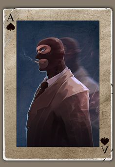 TF2 Poker spy by biggreenpepper on DeviantArt
