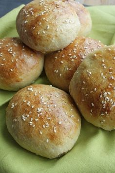 Zelf hamburgerbroodjes maken -Francesca kookt