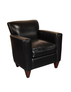 Essentially Yours Leather A8000A-01 Chair in Revelation Midnight Leather