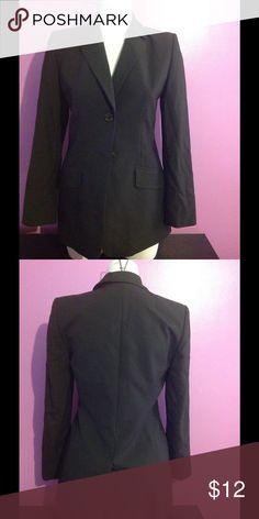 Casual Corner Annex Blazer Black 2 Button Blazer Casual Corner Annex Jackets & Coats Blazers