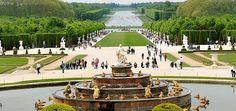 Les-jardins-du-Château-de-Versailles Francia.