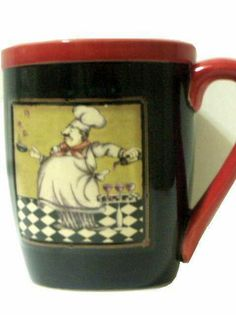 This large coffee mug will soon be your favorite especially if you like fat chefs.  sc 1 st  Pinterest & Fat Italian Chef Plates and Wall Hanger: Home \u0026 Kitchen | Fat Chef ...