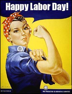 Perhaps the most iconic World War Two poster, Rosie the Riveter is an image that is recognized by people who couldn't tell you which countries were fighting in the war. But who was Rosie the Riveter? Find out in this article by Madeleine Winer. Rosie The Riveter, Pin Up, College Dorm Posters, Protest Posters, Ww2 Posters, Library Posters, Retro Posters, Library Signage, Library Quotes