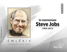 2012 Hungary Steve Jobs Commemorative Sheet