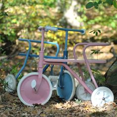 Bluebellgray, Pink Power, Metal Chairs, Tricycle, New Product, Retro Fashion, Colours, Green, Design