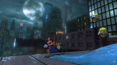 Super Mario Odyssey. Mario embarks on a new journey through unknown worlds, running and jumping through huge 3D worlds in the first sandbox-style Mario game since Super Mario 64 and Super Mario Sunshine.