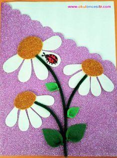 Gelişim Raporu Dosya Örnekleri ve Süslemeleri Preschool kindergarten report card cover Hand Crafts For Kids, Mothers Day Crafts, Diy And Crafts, Arts And Crafts, Felt Crafts, Easter Crafts, Orla Infantil, Notebook Cover Design, Ladybug Crafts