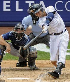 derek jeter i will retire a yankee   New York Yankees' Derek Jeter hits a home run for his 3,000th career ...