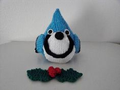 Blue Jay Ornament - via @Craftsy