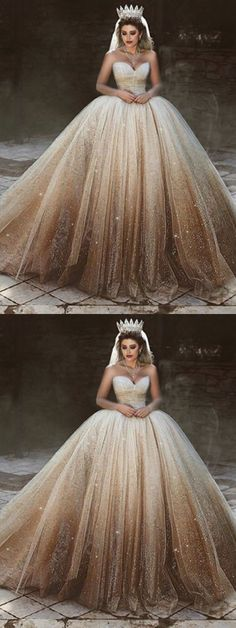 Most recent Absolutely Free Bling bling sweetheart corset tulle ball gowns wedding dresses sequins Ideas Beautiful Wedding Dresses ! The existing wedding dresses 2019 includes twelve various dresses in the Sweetheart Wedding Dress, Long Wedding Dresses, Princess Wedding Dresses, Gown Wedding, Tulle Wedding, Princess Ball Gowns, Ombre Wedding Dress, Quince Dresses, Ball Dresses