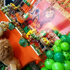 "It's  Your Party on Instagram: ""A look back at our #Lionking inspired theme! I loved how this event turned out. Birthday party fit for a young king... DJ's first birthday!…"" Lion King Theme, Lion King Party, Lion King Birthday, 1st Boy Birthday, Birthday Ideas, Birthday Parties, Lion King Baby Shower, Party Themes, Party Ideas"