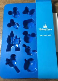 Walt Disney World Disneyland Ice Cube Tray Cinderella Castle Mickey Premium Ice…