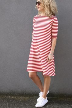Frankie Top/Dress Pattern - Patterns - Tessuti Fabrics - Online Fabric Store - Cotton, Linen, Silk, Bridal & more