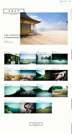 #写真 #世界観 sayoko nishimura さんのポートフォリオ Travel Memories, Site Design, Web Design Inspiration, Layout, Japan, Graphic Design, Image, Photos, Travel Souvenirs