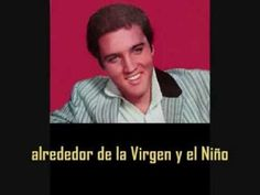 ELVIS PRESLEY - Silent night ( con subtitulos en español  ) BEST SOUND