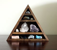 crystal and mineral stone collection in handmade by stoneandviolet, $100.00