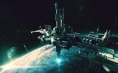 Brad Wright on CGHub. Keywords: concept space spaceship sci-fi science fiction art scene environments by brad wright professi.