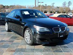 2006 BMW M5  71991 miles, Black exterior color with a Black interior, 5.0L V10 FI DOHC 40V Engine, Automatic Transmission