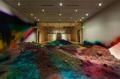 Artist Merges Layers of Dirt with Rainbows of Color - My Modern Metropolis