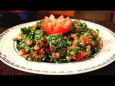 Tabbouleh recipe - Lebanese Cuisine - YouTube