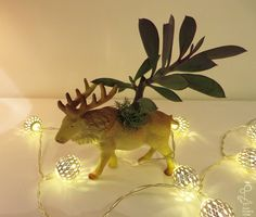 Reindeer // M Friends Series, Dinosaurs, Reindeer, Dinosaur Stuffed Animal, Succulents, Play, Animals, Animales, Animaux