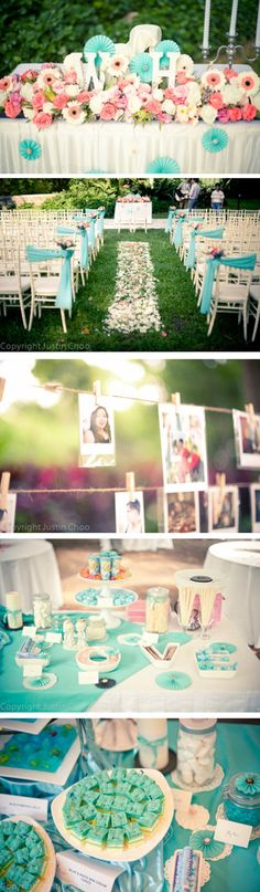 pretty colours :) hmm.. should I add more colours to my garden wedding theme?