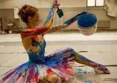 """Royal Ballet founder Ninette de Valois once said, """"Classical Ballet will NEVER die"""". To that we might add: Ballet ROCKS! We think it is the ultimate art form: it is music, movement and meaning. Psychedelic Art, Hip Hop, The Dancer, Just Dance, Looks Cool, Yukata, Glamour, Photoshoot, Beauty"""