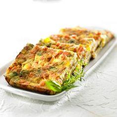 Ruokaisa vihannespannukakku (Uunipellinen), valmistusaika yli 60 min. I Love Food, Quiche, Food And Drink, Vegetarian, Baking, Breakfast, Recipes, Koti, Drinks