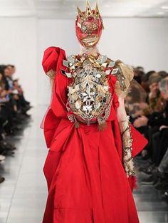 John Galliano voor Maison Martin Margiela Haute Couture s/s 2015 | ELLE