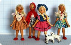 Vintage Dollies by leah halliday, via Flickr