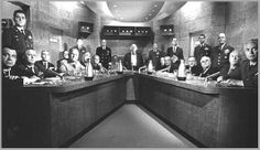 http://lh4.ggpht.com/-2KGoZKkoVuU/TwJdCjmv5FI/AAAAAAAABnw/EQRxM9v1HFM/FailSafe04_thumb2.jpg?imgmax=800 Fail Safe (1964) war room; look at all the seated talent.